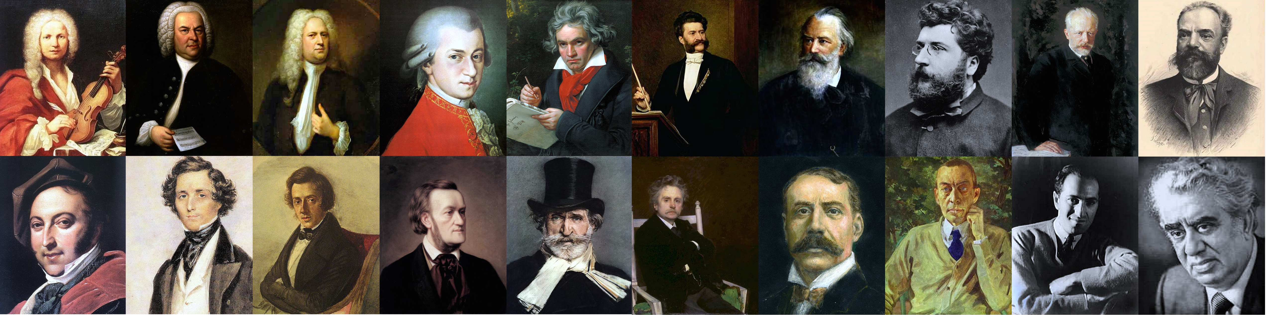 Classical Composers 1