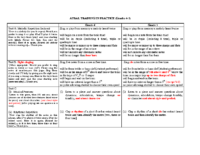Grades 4-5 Structure of the Aural Exam