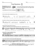 Lesson 2 Exercise 2 Time Signatures 44