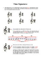 Lesson 2 Handout 2 Time Signature Basics