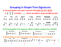Lesson 3 Handout 3 Groupings in Simple Time