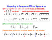 Lesson 3 Handout 4 Groupings in Compound Time