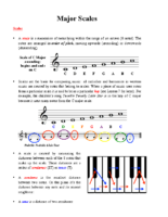 Lesson 5 Handout 1 Major Scales b