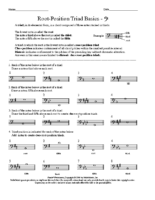 Lesson 9 Exercise 2 Major Triads BC