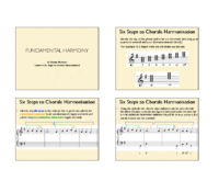1) Handout 1 Six Steps to Chorale Harmonisation