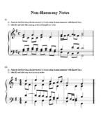 3) Exercise 1 Non-Harmony Notes